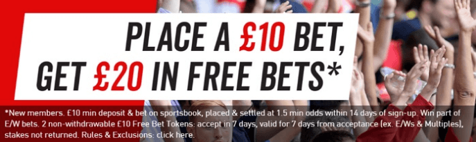 Virgin Bet Bonus Code